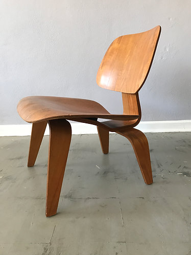 Early Eames LCW Evans Production Chair