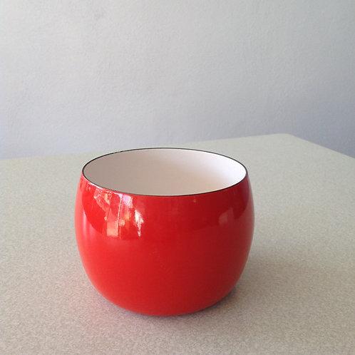 Red Enamel Dansk Bowl