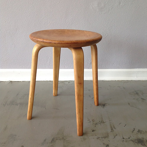 Bentwood Thonet low Stool