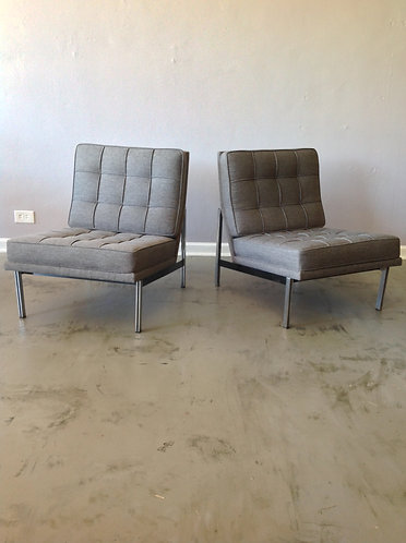 Pair of Knoll Parallel Bar Chairs