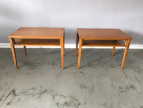 Pair of Conant Ball Side Tables