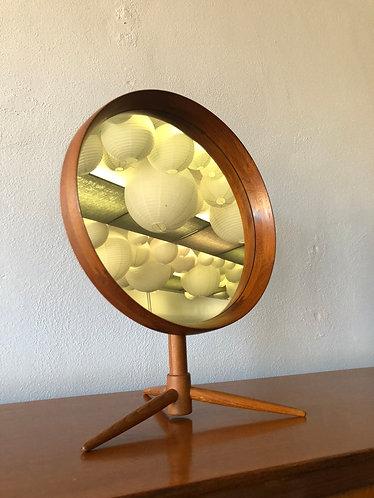 Pedersen and Hansen Teak Vanity Mirror