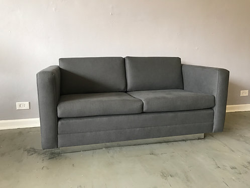 Gunlocke Loveseat with Plinth Base