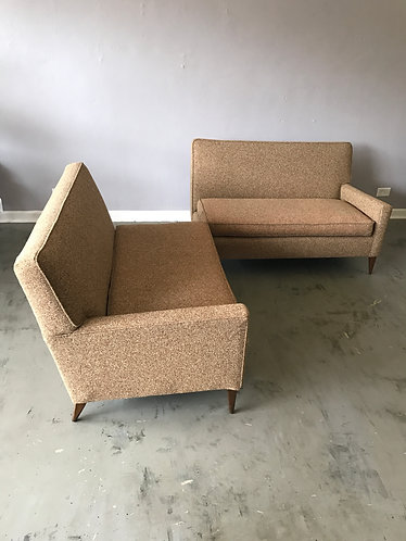 Mid Century Two Piece Sectional