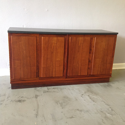 Oiled Walnut and Slate Server / Credenza