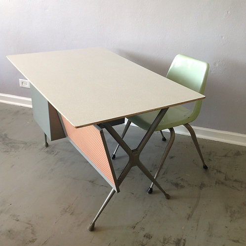 Raymond Loewy Desk and Chair