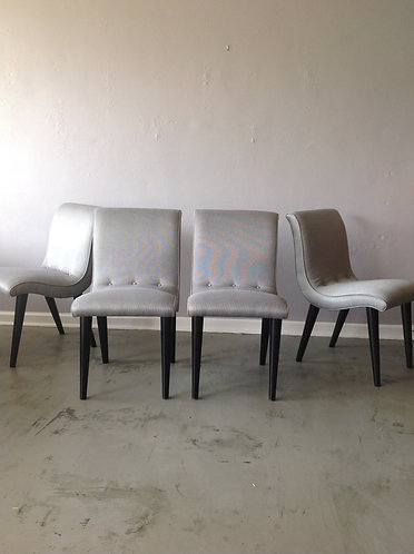 Conant Ball Scoop Dining Chairs (4)
