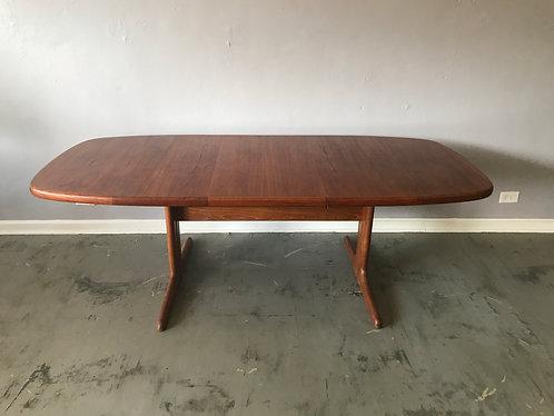 Danish Modern Teak Dining Table