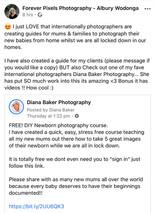 Free DIY Newborn Photography course