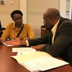 REACH Memphis student being mentored