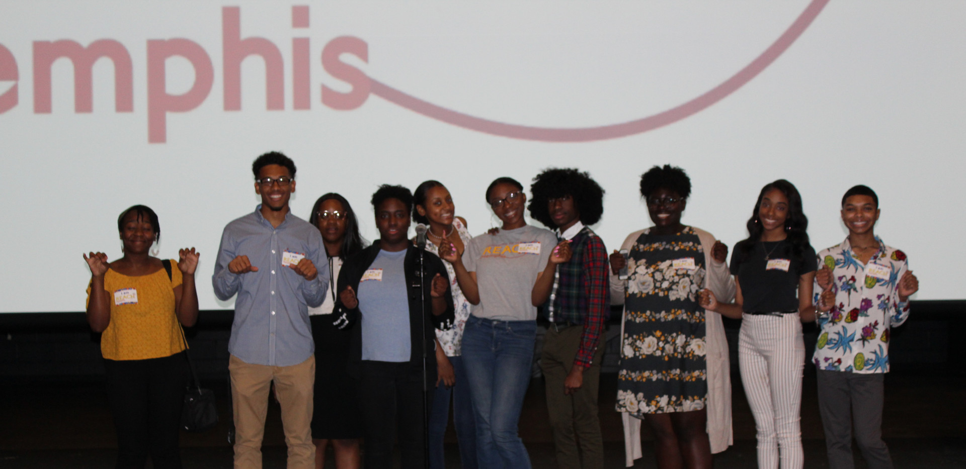 REACH Memphis Student Executive Board and LeadONE