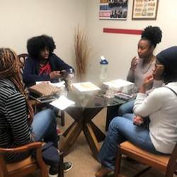REACH Memphis students with mentors