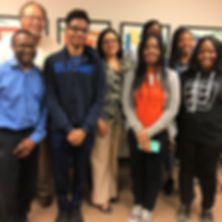 REACH Memphis smith and nephew scholars with their mentors