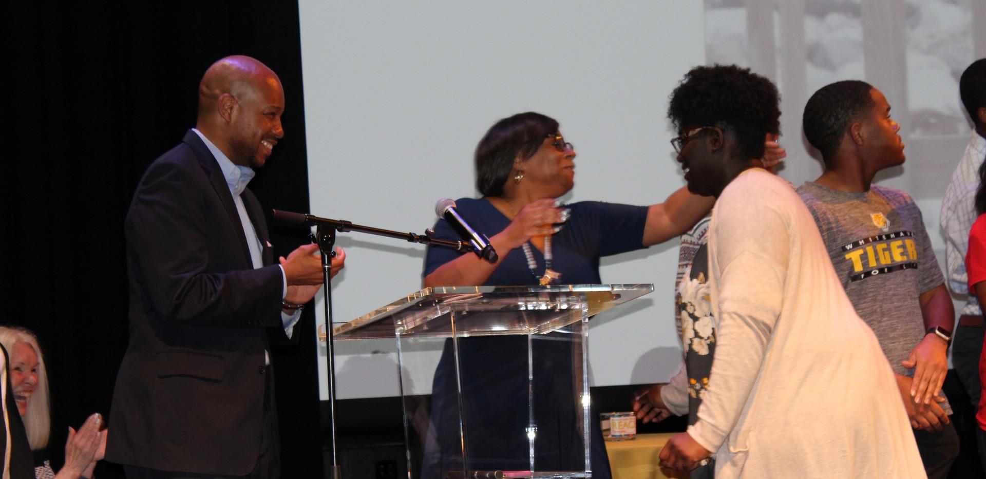 REACH Memphis student recognized by mentors