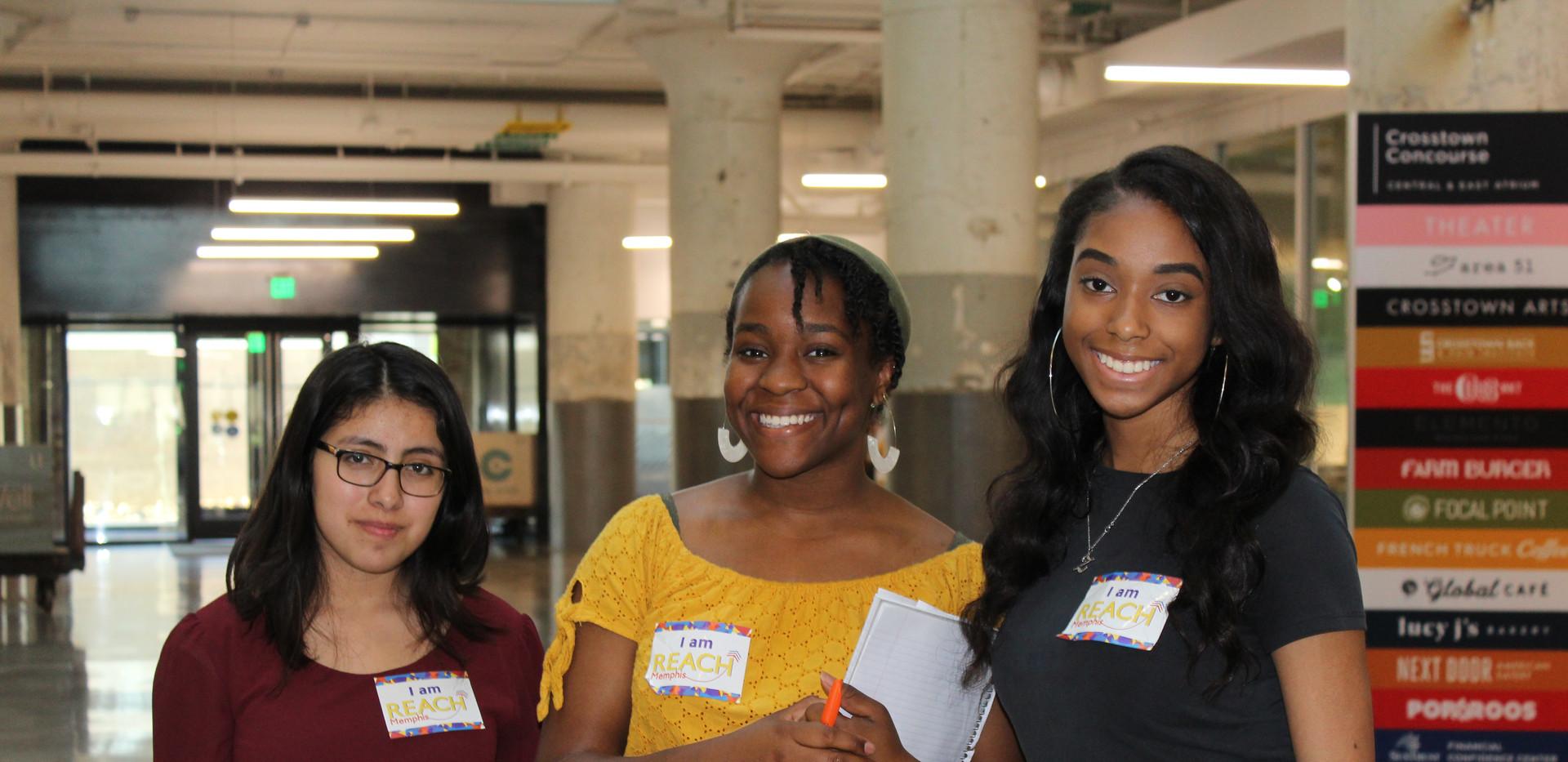 REACH Memphis LeadONE Council with REACH Memphis students
