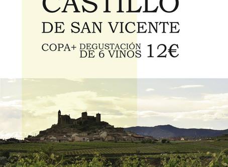 Catas en el castillo de San Vicente de la Sonsierra.