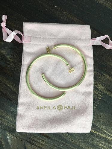 Sheila Fajl Brushed 18K Gold
