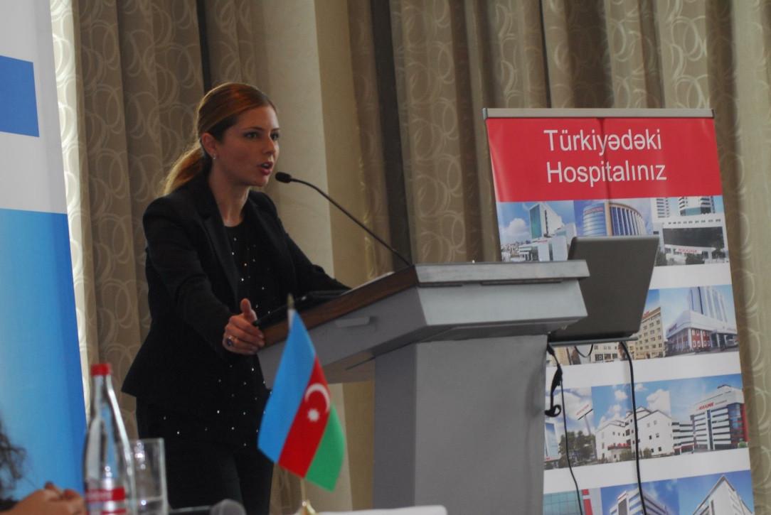 Azerbaycan Sağlık Turizmi İşbirliği Günleri - Türk Sağlık Turizmi Konuşmacı Nagihan Ünüvar
