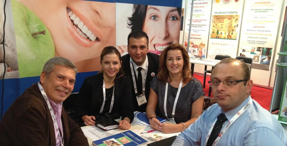 Sağlık sektörü markamız Tanfer Klinik Ukrayna Sağlık Turizmi Fuarı Standı