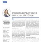 Pazarlama Planında Mevcut Durum Analizinin Önemi - Kobi Aktüel - Aralık 2019