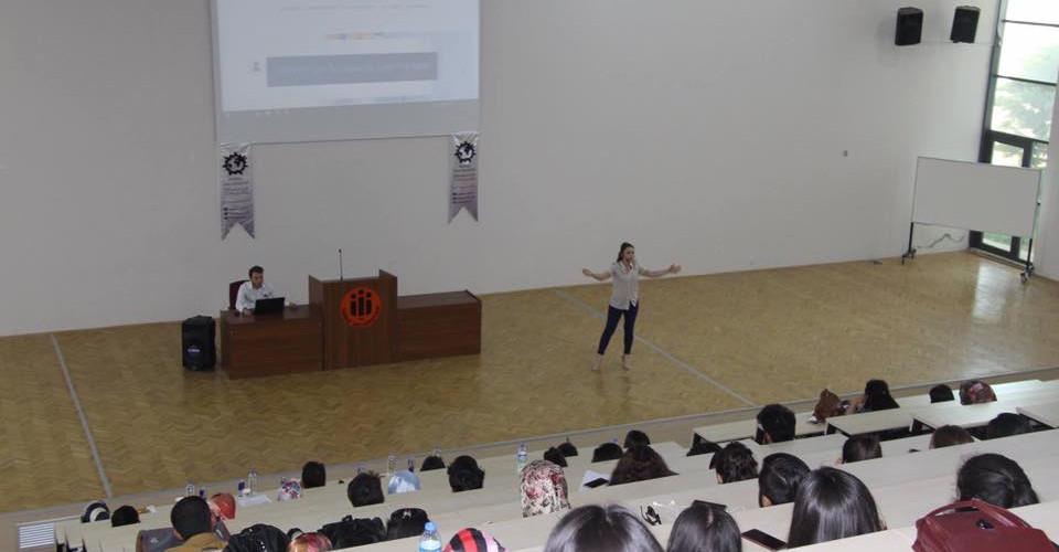 İnönü Üniversitesi Girişimcilik Kulübü Semineri 2017- Konuşmacı Nagihan Ünüvar