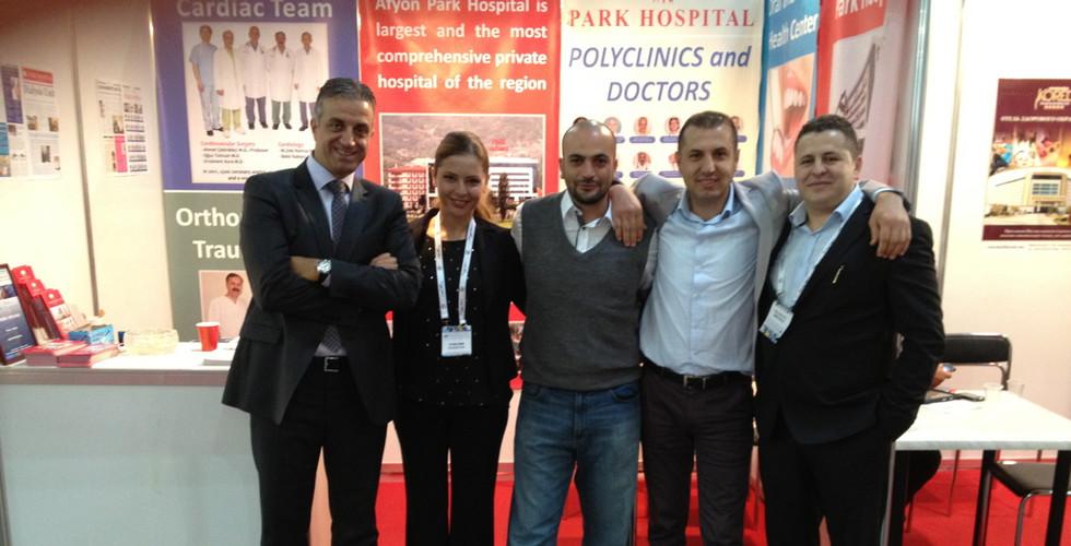 Sağlık sektöründe Ukrayna Sağlık Turizmi Fuarı Katılımı