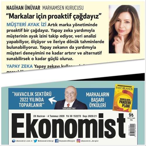 Ekonomist Dergisi Fast Brands - 28 Haziran 2020
