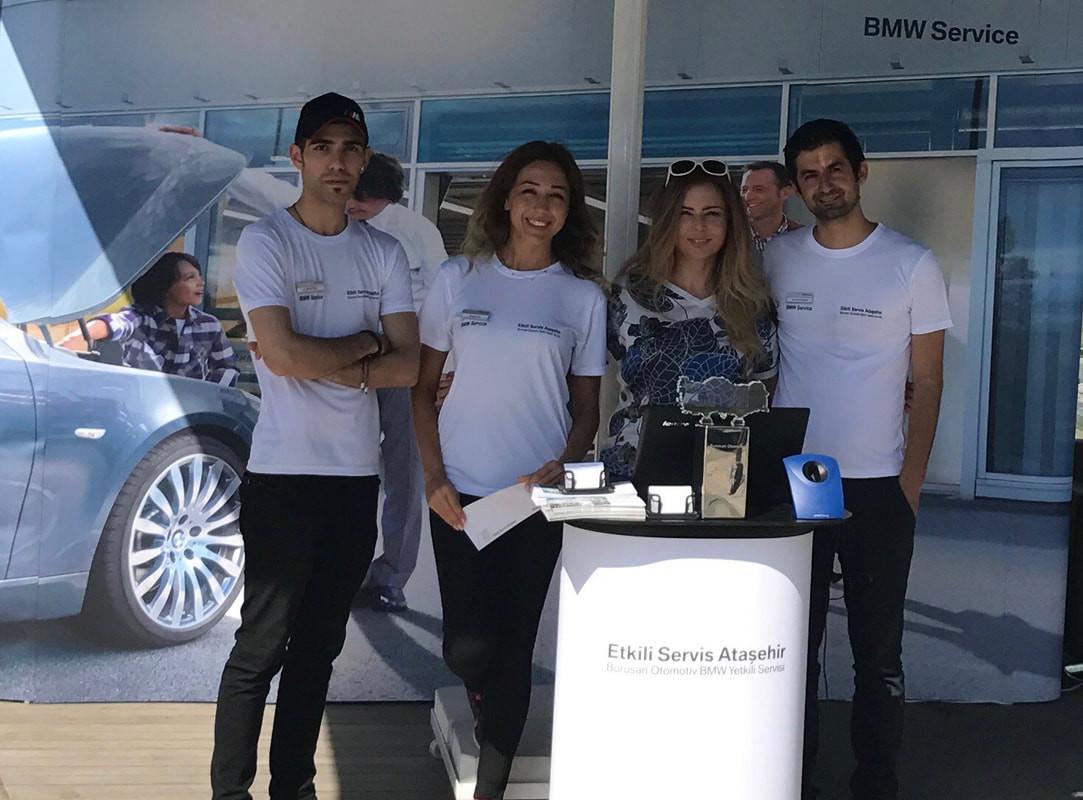Borusan Otomotiv BMW Yetkili Servisi Etkili Servis Ataşehir Kurumsal Tanıtım Etkinliği Organizasyonu 2017
