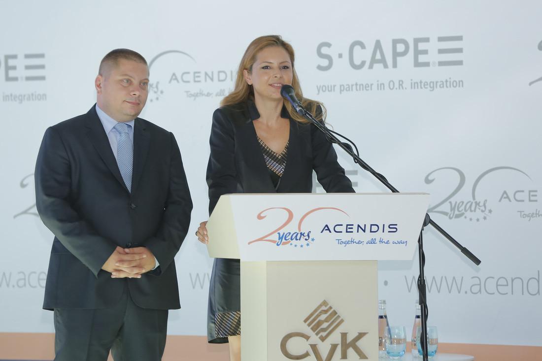 Sağlık sektörü global markamız ACENDIS Akıllı Ameliyathane Entegrasyon Sistemleri Lansmanı 2015 - Organizasyon ve Moderasyon Nagihan Ünüvar