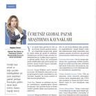 Ücretsiz Global Pazar Araştırma Kaynakları - Kobi Aktüel - Kasım 2019