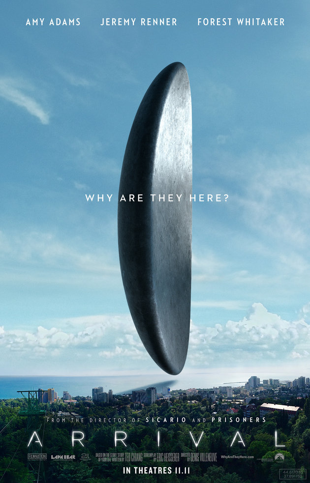 ARRIVAL WAS VISUALLY STRIKING, BRILLIANT, AND EQUALLY TRIPPY