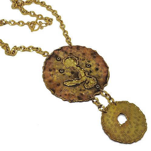 Musing Double Round Necklace