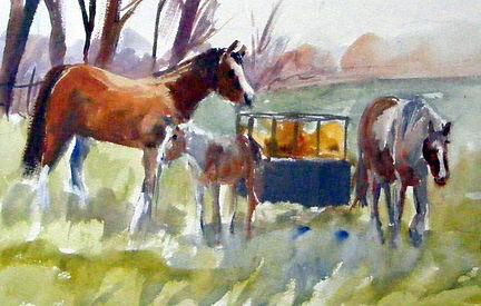 Mare&Foal-gouache.jpg