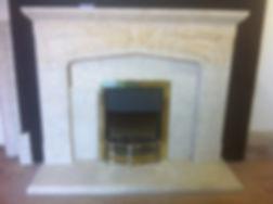 Ancaster Limestone fireplace