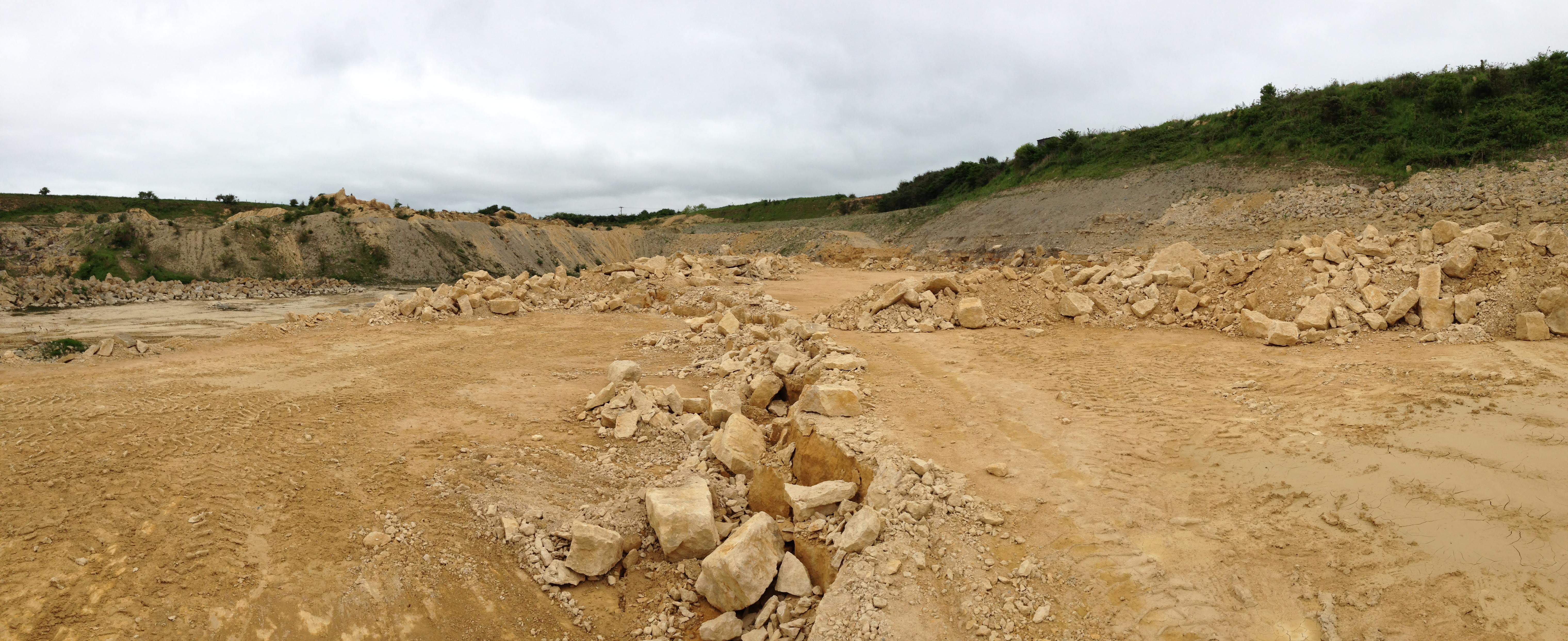 Ancaster Limestone quarry