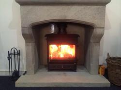 Yorkshire Gritstone fireplace