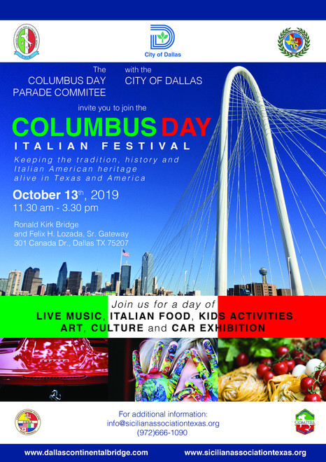 Columbus Day 2019 Flyer