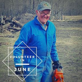 Volunteer at Camp in June