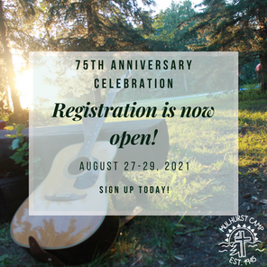 Celebrate 75 Years of Mulhurst Camp. Join Us!