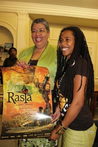 Donisha and Her Excellency Ambassador Al