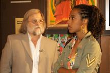 7 Donisha and Dr. Jake Homiak -- Curator