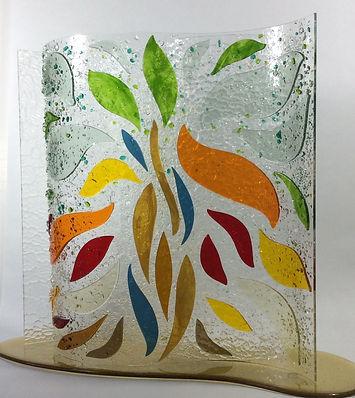 Glass Sculpture by Nan Phillips