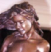 figurative bronze sculpture statue Nan Phillips
