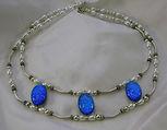 Nan Phillips Dichroic Fused Glass Wedding Jewelry