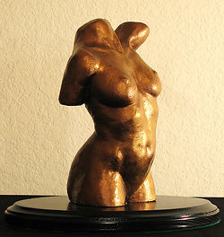 Nan Phillips realistic figurative sculpture