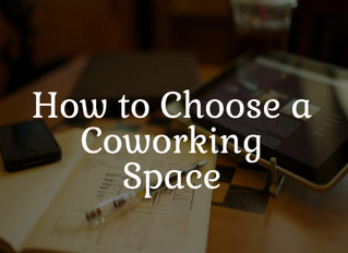 How to Choose the best Co-working Space for your Start-up