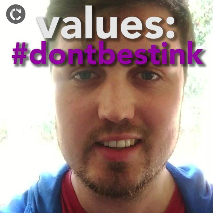 Values: #dontbestink – Douglas Hill, Civic