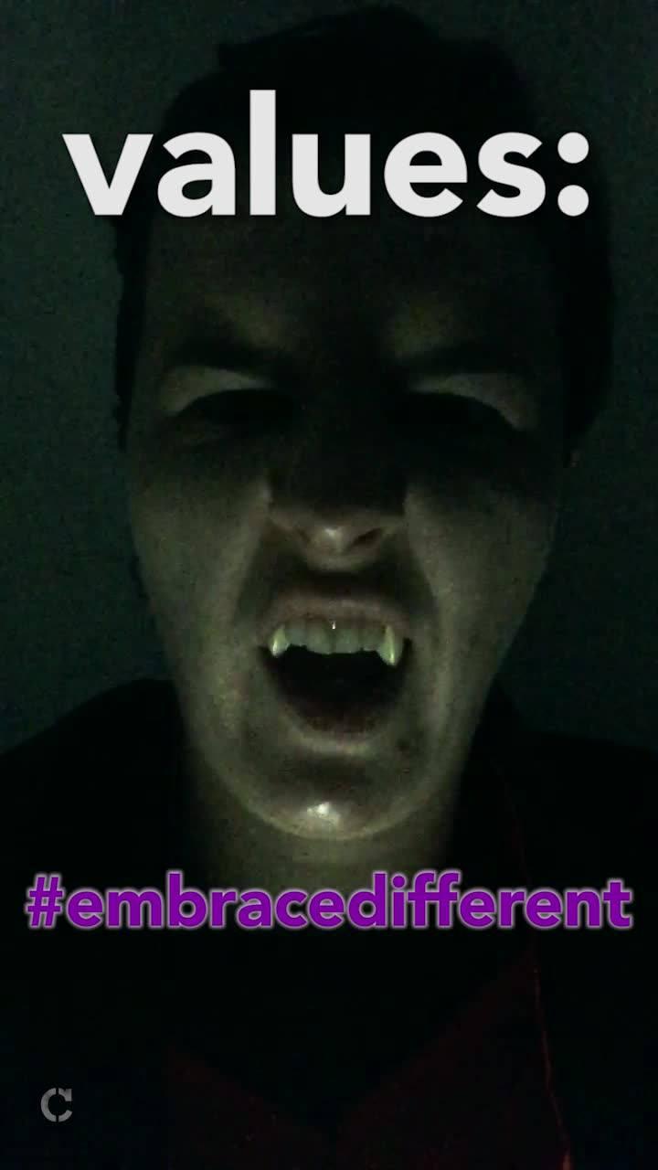 #EmbraceDifferent – Values – Jess The Impaler