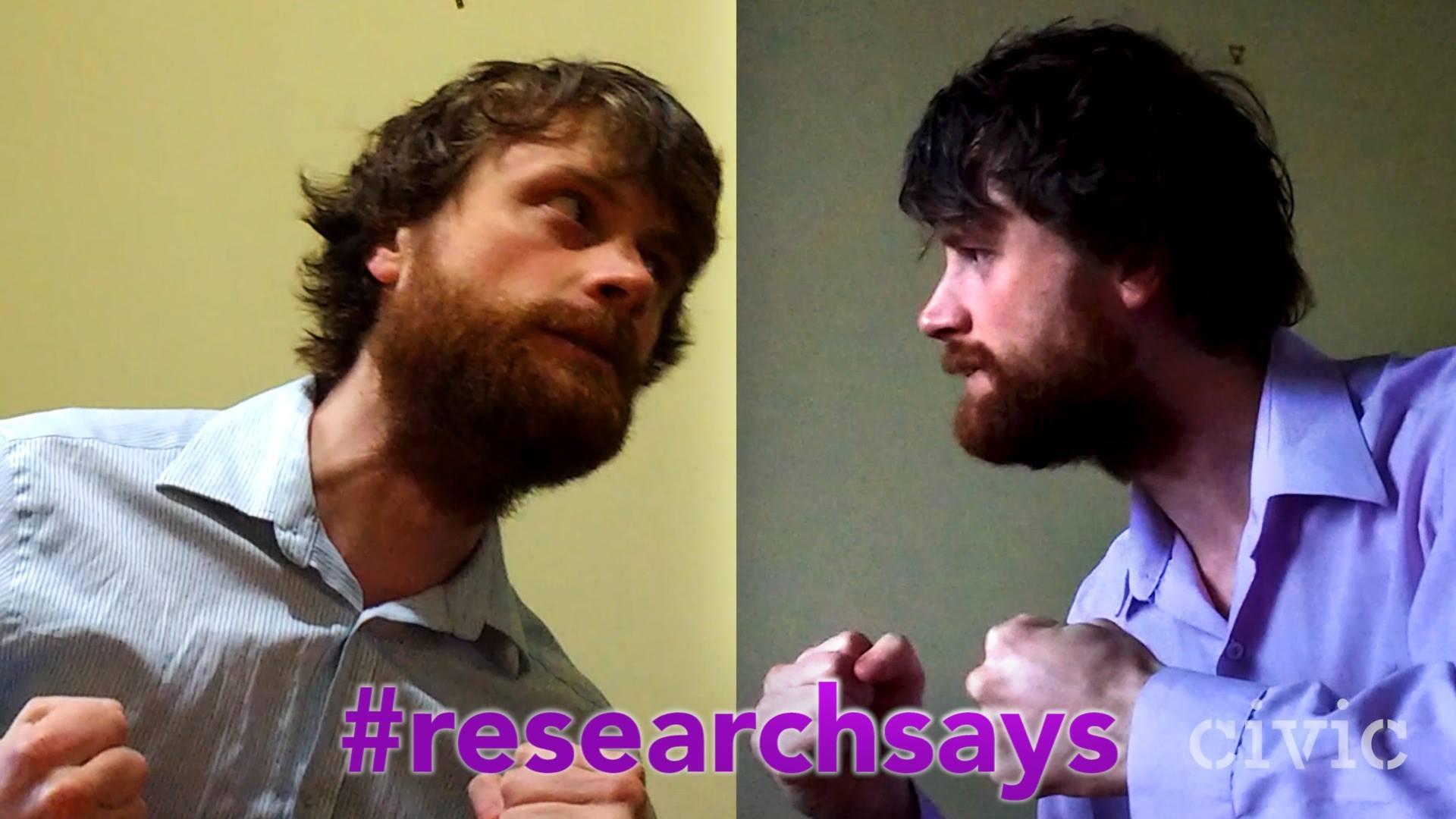 #ResearchSays Value, by Volunteer Coordinator Ben Wylie-Van Eerd
