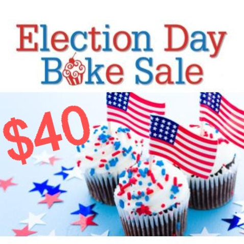 $40 Donation to Bake Sale